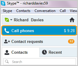 how to see blocked contacts on skype