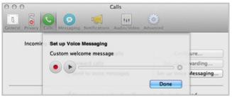 Skype Voice Messaging for Mac