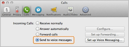Skype Voice Messaging